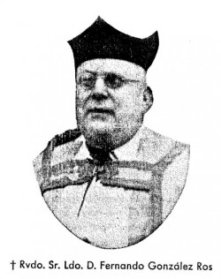 El beato Fernando González Ros.