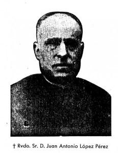 Beato Juan Antonio Pérez.