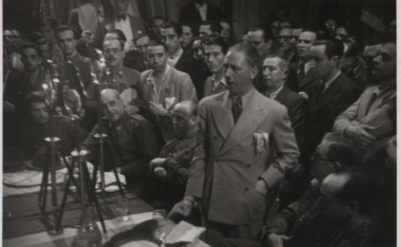 Companys y del Vayo el 6 de julio de 1937.