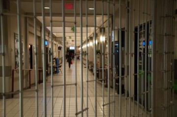 The SSD cites nighttime gate closures in the SUB as barriers to accessibility, as the gates block off a single-occupant accessible washroom and some fire exits.