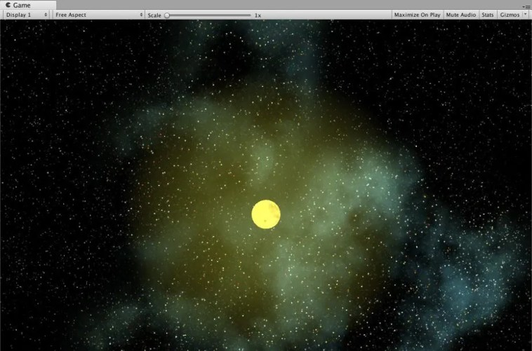 Se muestra el resultado de como ha quedado la emisión de la Luz Solar.