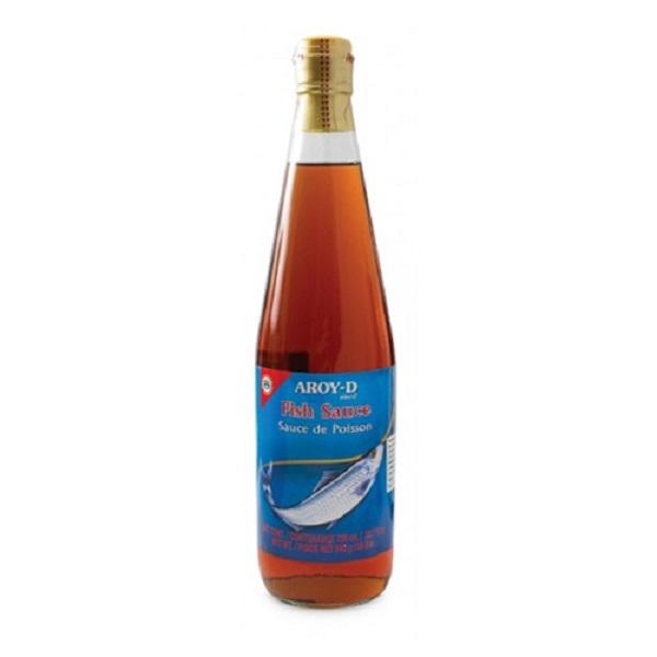 Рыбный соус Aroy-D, бутылка стеклянная 700 мл., Таиланд
