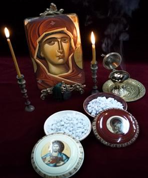 Tămâia, ca simbol al rugăciunii