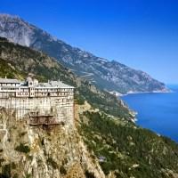 Sfântul Munte Athos în 360°