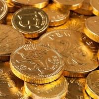 Douăsprezece monede de aur