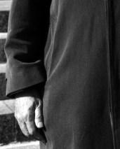 L44786 Man's hand & coat