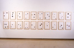 Installation View, MCA, The Sports Pages, 2000