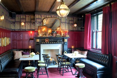 Imperial Arms Pub in Chistlehurst, UK. Designed by Martyn Lawrence Bullard