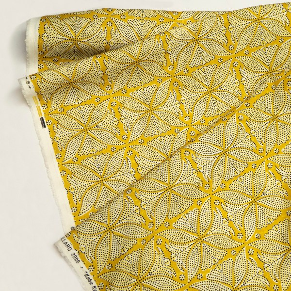 Kabba Kabba yellow dots indoor fabric by Martyn Lawrence Bullard