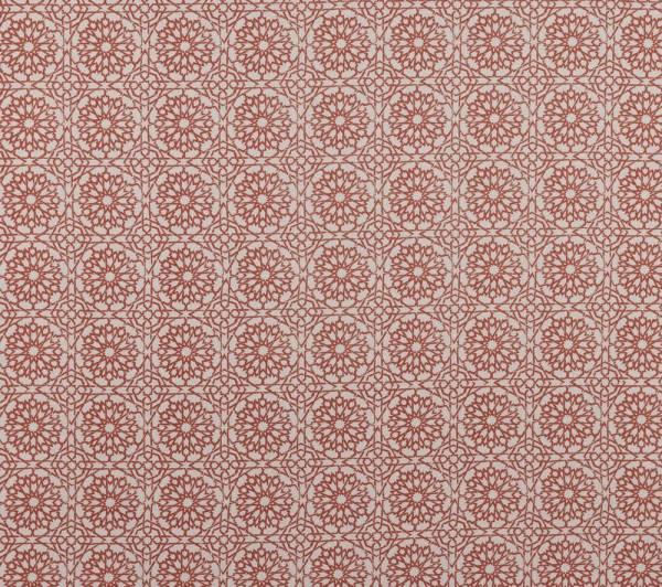 Mamounia Petite paprika Indoor fabric by Martyn Lawrence Bullard