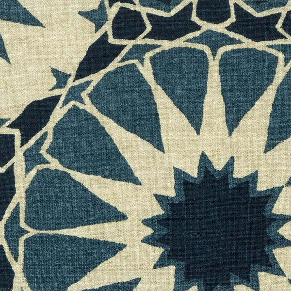 Shambala indian ocean indoor fabric by Martyn Lawrence Bullard