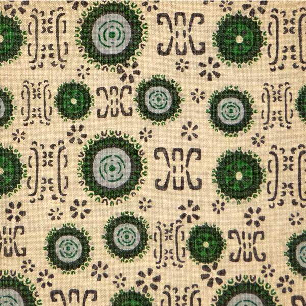 Delos Evergreen indoor fabric by Martyn Lawrence Bullard
