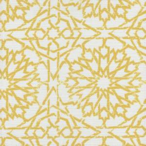 Mamounia Petite saffron Outdoor fabric by Martyn Lawrence Bullard
