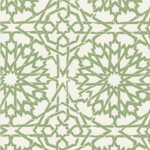 Mamounia Petite emerald wallpaper by Martyn Lawrence Bullard