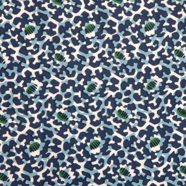 Utopia blue indoor fabric by Martyn Lawrence Bullard