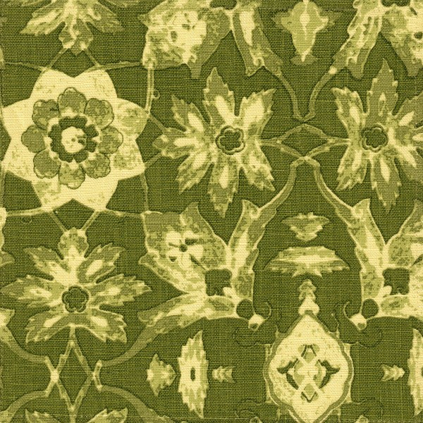 Izmir green indoor fabric by Martyn Lawrence Bullard