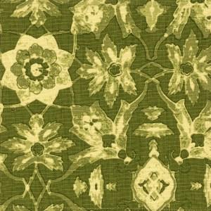Izmir green indoor fabric by Martyn Lawrence Bullard