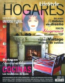 Hogares Spain Cover with Cheryl Tiegs and Martyn Lawrence Bullard
