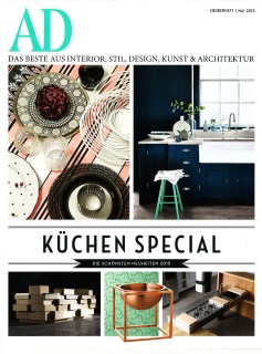 Architectural Digest Germany Kitchens supplement with design by Martyn Lawrence Bullard