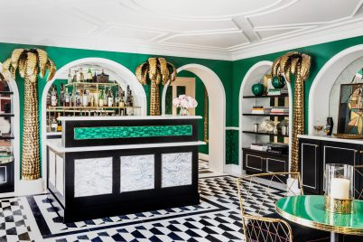 Bar at The Prospect Hollywood hotel designed by Martyn Lawrence Bullard