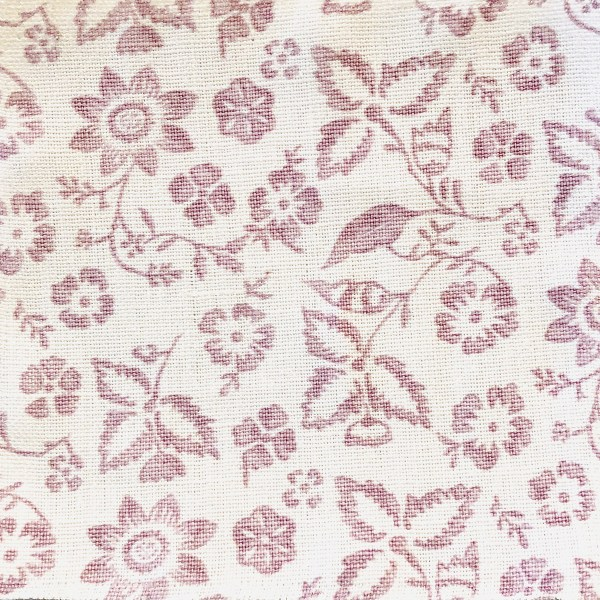 Hyclere Rose Lavender 100% linen indoor fabric by Martyn Lawrence Bullard.