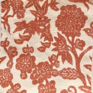 Tanara corral 100% linen indoor fabric by Martyn Lawrence Bullard.
