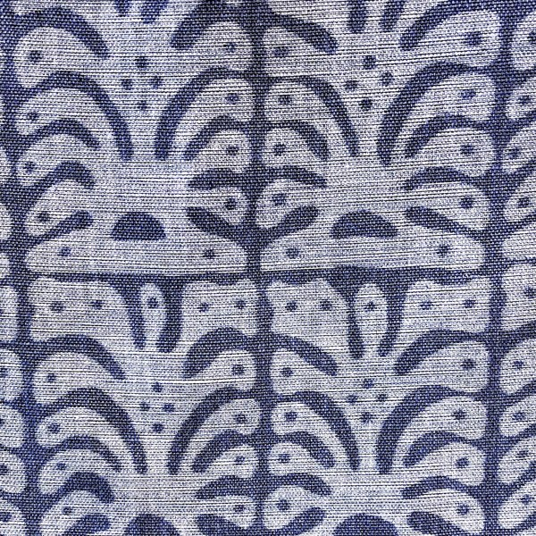 Los Cabos indoor fabrics in Ocean Spray blue by Martyn Lawrence Bullard