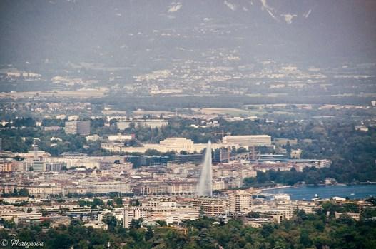 Geneva view from Salève