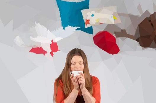 polygon, low poly, design, photography, anna martynova