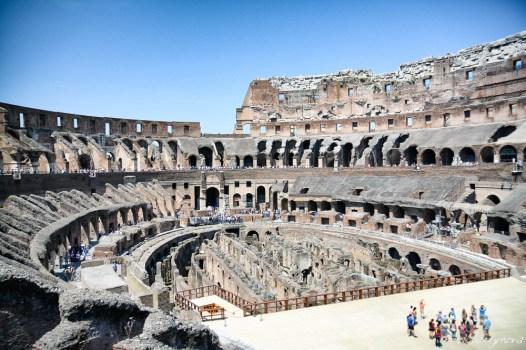 Inside Colosseum