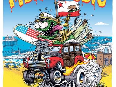 "Malibu Surfing Association ""MSA Classic 2013"" Poster"