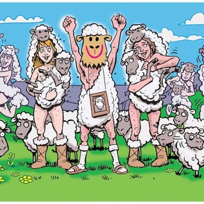 Mad Magazine cartoon by Marty Schneider