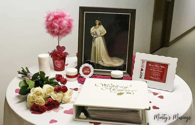 25th Anniversary Decorations: Vow Renewal Ideas