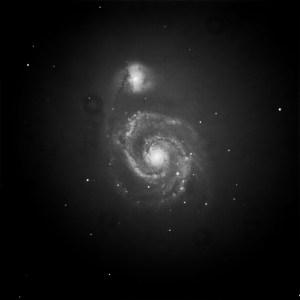 Supernova in M51