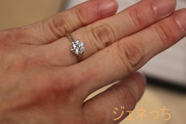 BRILLIANCE+の指輪をしてみた