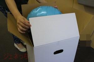 箱開けたら、何かふわふわしたものが。。