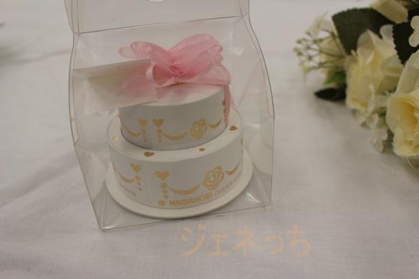 シルバーネックレスVPCDSW00 誕生日ケーキのような箱に入っています