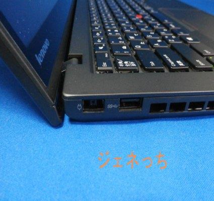 ThinkPadT440s左側面