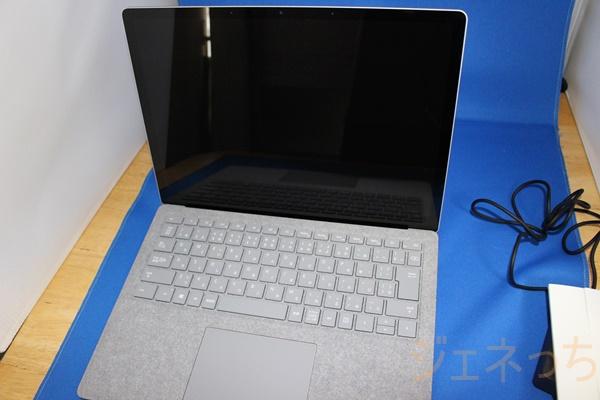 Surface Laptop 開いてみた