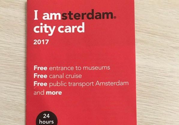 【アムステルダム】おトクな『City Card』と『Travel Ticket』を紹介!
