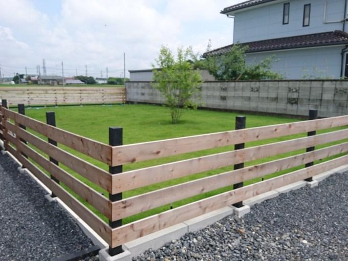 木塀はDIY!?