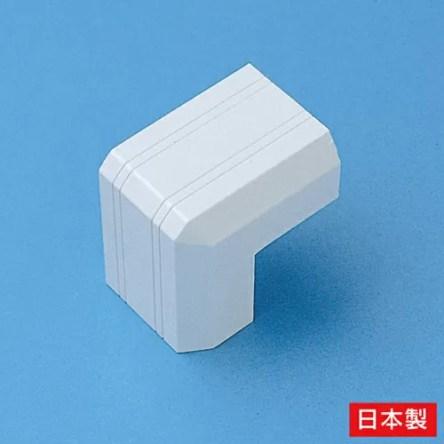 サンワサプライ ケーブルカバー(出角、ホワイト) CA-KK26D