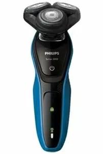 フィリップス S5060 05 メンズシェーバー 5000シリーズ アクアテックブルー ブラック
