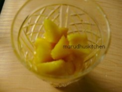 SECOND WITH CUT MANGOES