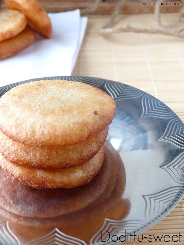 simple sweet recipe-dodittu