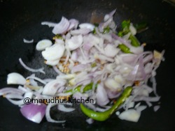 WHEN DHALS BECOME GOLDEN ADD ONION MIXTURE
