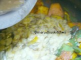 ADD DAL AND MOCHAI WITH TAMARIND WATER