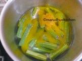 BOIL VEGGIE WITH TURMERIC