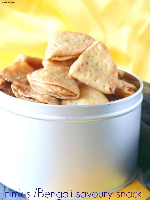 recipe for nimki /Bengali savoury snack