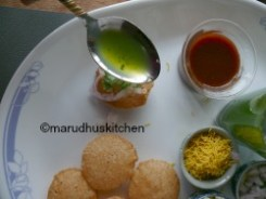 GREEN CHUTNEY WATER